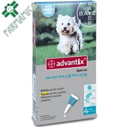 Advantix Spot-On Cani Medi 4-10kg Farmamica