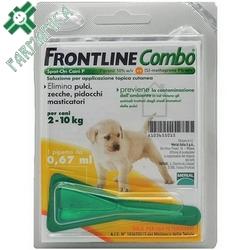 Frontline Combo Cani Piccoli 2-10kg 1x0,67mL Farmamica