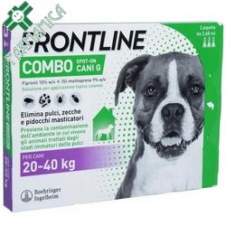 Frontline Combo Cani Grandi 20-40kg 3x2,68mL Farmamica