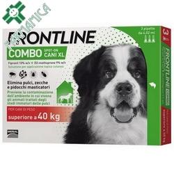 Frontline Combo Cani XL >40kg 3x4,02mL Farmamica