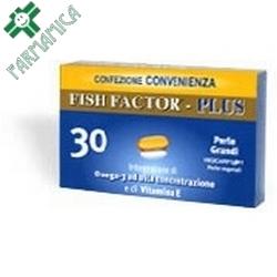 Fish Factor Plus 30 Perle Grandi 40,2g Farmamica