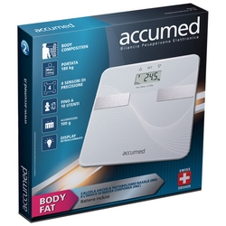 Accumed Bilancia Pesapersone Elettronica Body Fat BF1201