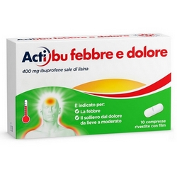 Actibu Fever and Pain Tablets Coated