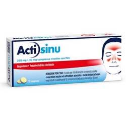 Actisinu Tablets Coated