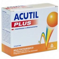 Acutil Multivitaminico Plus Bustine 120g
