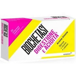 Biochetasi Digestione e Acidita Compresse Masticabili 38g