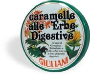 Caramelle alle Erbe Digestive Giuliani 60g