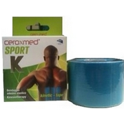 Ceroxmed Sport Kinetic-Tape Blu 5x5