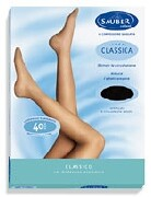 Sauber Tights Classic 40 Clear Size 5