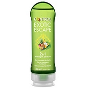 Control Exotic Escape 2in1 Moisturizing Massage Gel 200mL