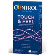 Control Touch-Feel 6 Condoms