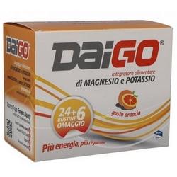 Daigo Magnesio Potassio Bustine Arancia 240g