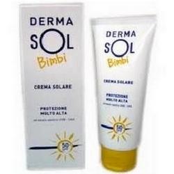 Dermasol Bimbi Crema Solare Protettiva 1-3 Anni 50mL