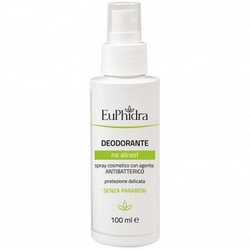 EuPhidra Deodorant No Alcohol 100mL