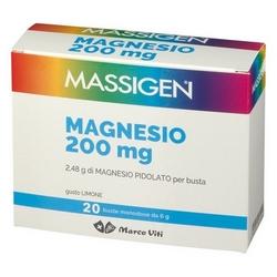 Massigen Magnesio Pidolato Bustine 120g
