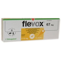 Flevox Spot-On 67mg Cani 2-10kg 1x0,67mL