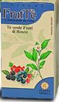 FrutTe Te Verde e Frutti di Bosco Tisana 40g