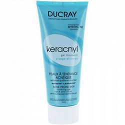 Ducray Keracnyl Cleansing Gel 200mL