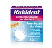 Kukident Durable Freshness 32 Effervescent Tablets