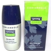 LAmande Homme Coriander Deo Roll-On 75mL