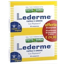 Lederme Hair and Nails Tablets 33g