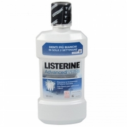 Listerine Advanced White Collutorio Multi-Azione 500mL