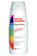 Massigen Shower Shampoo with Antibacterial 200mL