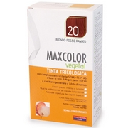 MaxColor Vegetal Dyes Hair 20 Auburn Red Blonde 140mL