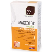 MaxColor Vegetal Dyes Hair 22 Mahogany Bark 140mL