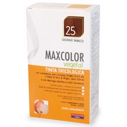 MaxColor Vegetal Dyes Hair 25 Tobacco Brown 140mL