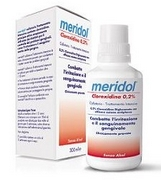 Meridol Chlorexidine Mouthwash 300mL