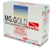 MgGold Magnesio Citrato Bustine 120g