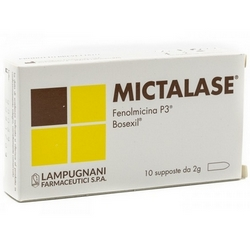Mictalase Suppositories CE