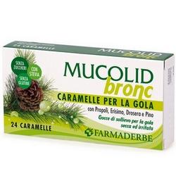 Mucolid Bronc Caramelle 70g