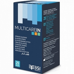 multiCare-in Glucose Strips 25Pieces