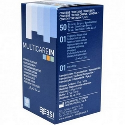 multiCare-in Glucose Strips 50Pieces