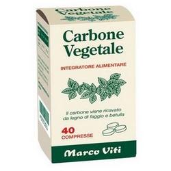 Carbone Vegetale MViti Compresse 16g