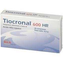 Tiocronal 600 HR Compresse 16,5g