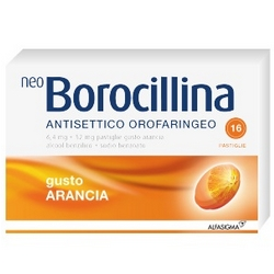 Neoborocillina Antiseptic Oropharyngeal Orange Pads