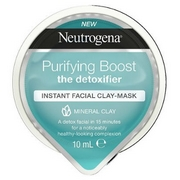 Neutrogena Purifying Boost Express Facial Cream-Mask Detox 1mL