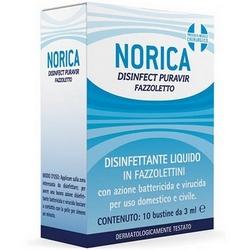 Norica Disinfect Puravir Handkerchief 10x3mL