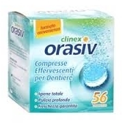 Orasiv Clinex 56 Effervescent Tablets
