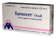 Turnover Vaginal Ovules 18g