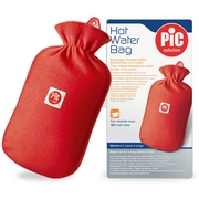 Pic Two-Sided Ribbed Hot Water Bottle
