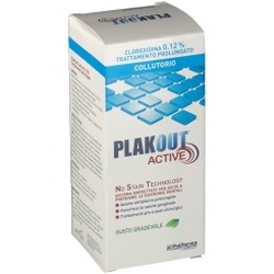 PlakOut Active 012 Chlorhexidine Prolonged Treatment Mouthwash 200mL
