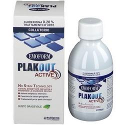 Plak ut Active 020 Chlorhexidine Shock Treatment Mouthwash 200mL