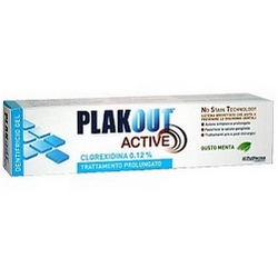 Plak Out Active 012 Chlorhexidine Prolonged Treatment Toothpaste Gel 75mL