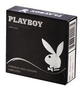 Playboy Condoms Premium 3 Lubricated Classic