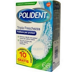 Poligrip Triple Freshness 66 Tablets