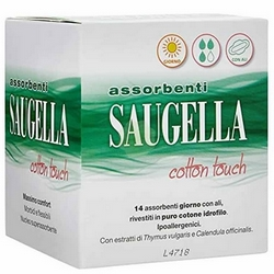Saugella Cotton Touch Sanitary Towels Day